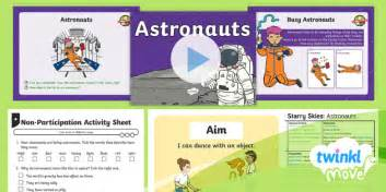 Twinkl Move  Year 1 Dance Starry Skies Lesson 3 Astronauts