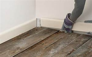 arid preservation With laying a concrete floor with membrane