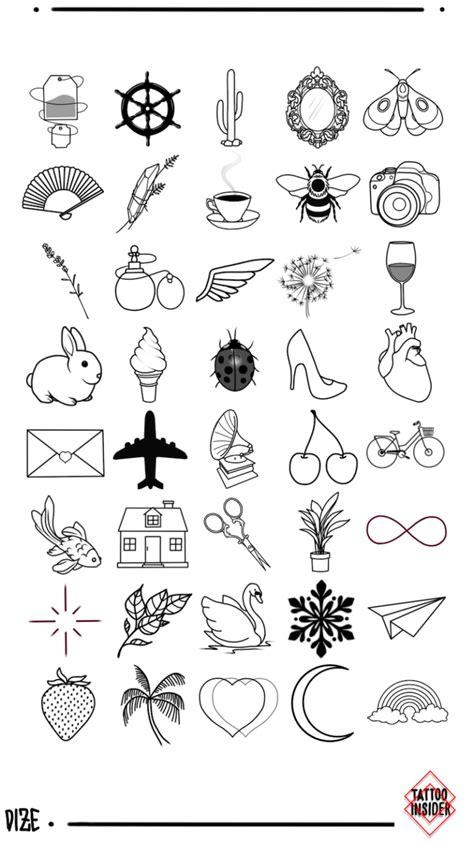 160 Original Small Tattoo Designs | Small tattoos, Tattoos, Tattoo designs
