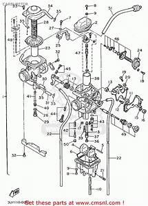 Yamaha Xt600eg 1995 Carburetor