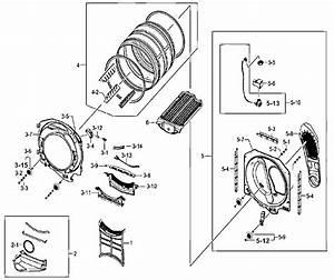 Samsung Residential Dryer Drum Parts