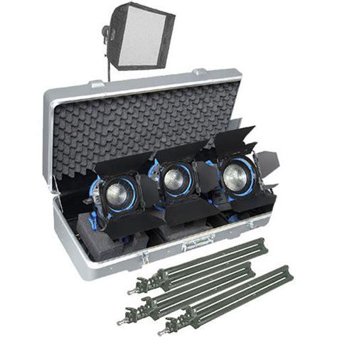 arri light kit arri softbank d2 three light kit lk 0005647 b h photo