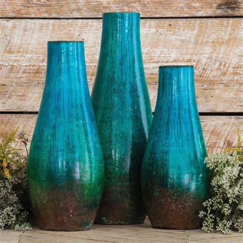 Laguna Pottery Vases   Set of 3