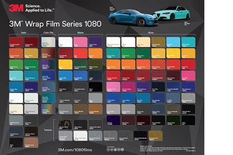 3m 1080 colors 3m 1080 wrap series 3m india
