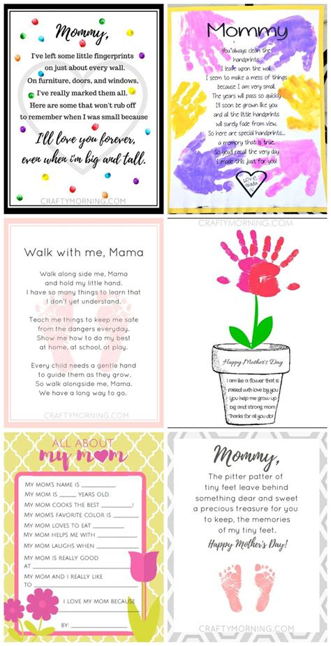 1123 best crafty morning images on 334 | facd49b71cad5d199bc1153a0efab8b3 mothers day poems preschool kids mothers day crafts for kids handprints