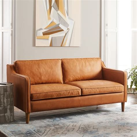 west elm hamilton leather sofa hamilton leather sofa hamilton 2 piece leather chaise