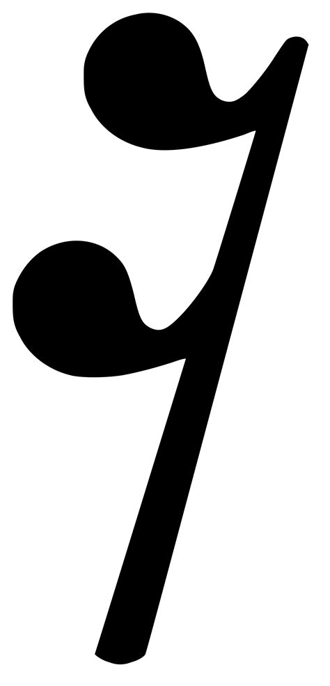 The five horizontal lines that make up a music staff are called leger lines. Musical Rest Symbol - ClipArt Best