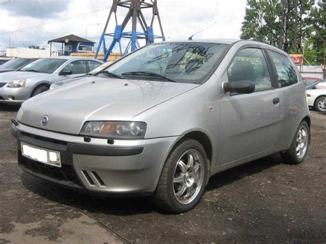 fiat punto 2002 used 2002 fiat punto pictures 1 2l gasoline ff manual