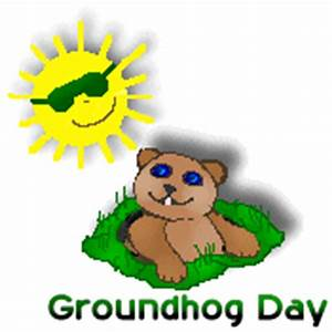 Pics For > Happy Groundhog Day Clip Art