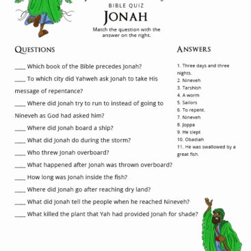 bible stories  lessons swallowed   fish jonah