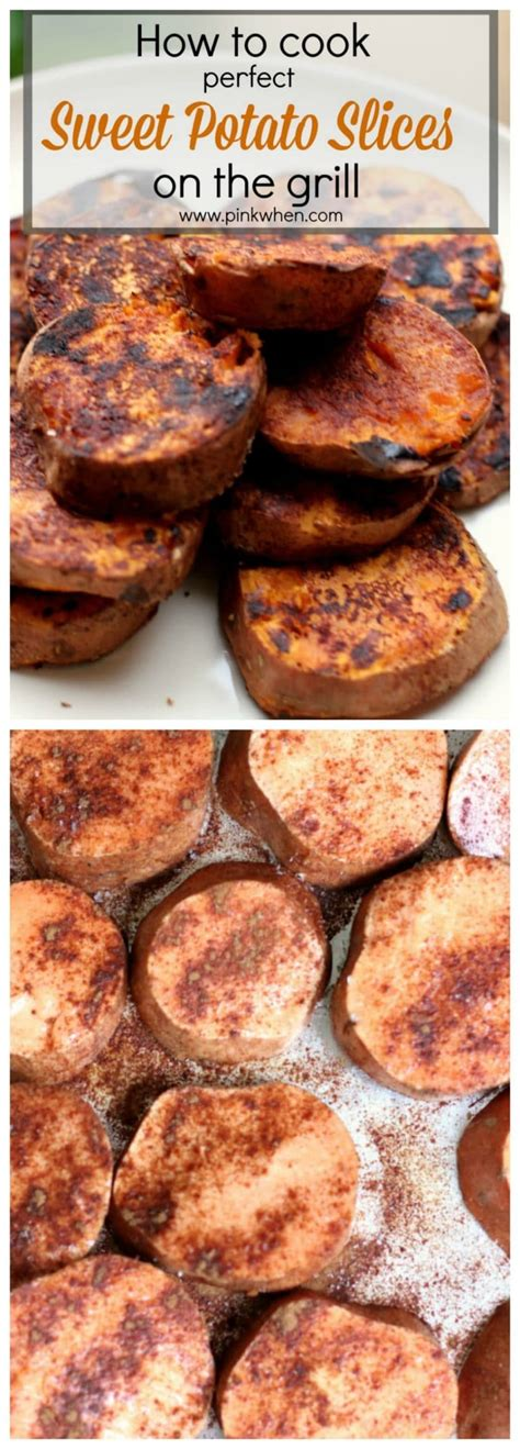 how do you boil a sweet potato how to cook sweet potatoes on the grill pinkwhen
