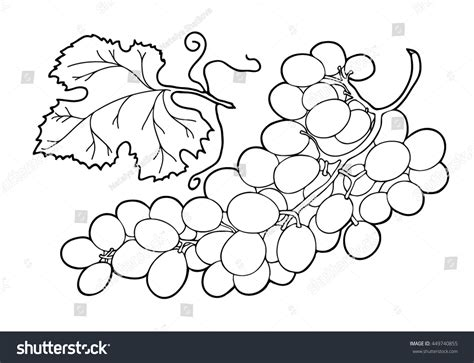 Coloring Book Hand Drawn Adults Children Stock Vector