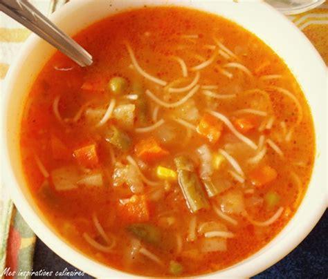 soupe de legume maison soupe aux legumes express et facile le cuisine de samar