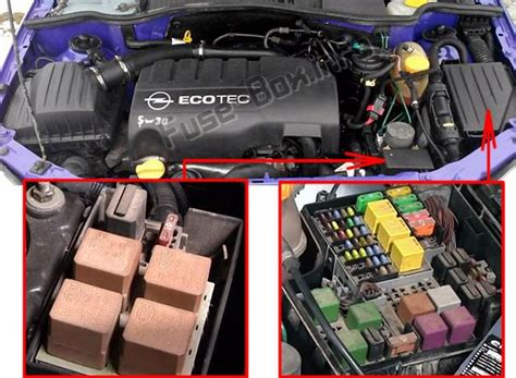Fuse Box For Vauxhall Combo by Opel Vauxhall Combo C 2001 2011