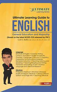 Ultimate Learning Guide To English  U2013 Carl Balita Review Center