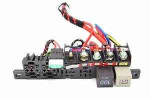 Under Dash Relay Wiring Panel Board 99