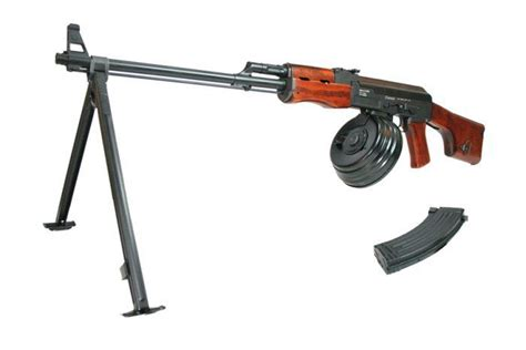 Deactivated Rpk Machine Gun