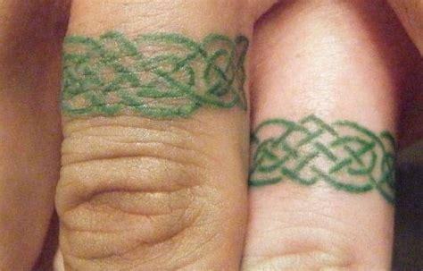 25 slick wedding ring tattoos creativefan