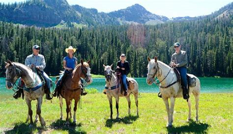 yellowstone horseback riding things yellowstonepark park adventure national through montana courtesy paradise company rafting whitewater west state journeyranger trail wild