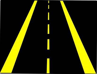 Road Horizontal Clipart Street Highway Lane Streets