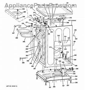 Ge Hydrowave Washer Parts Diagram