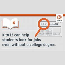 Infographic 10 Things About K To 12