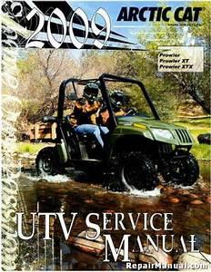 2009 Arctic Cat Prowler Xt Xtx 550 650 700h1 Service Manual