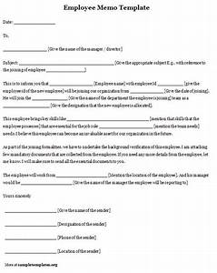 memo template for employee sample of employee memo With memo to staff template