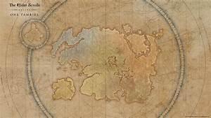 One Tamriel Map Wallpaper — Elder Scrolls Online
