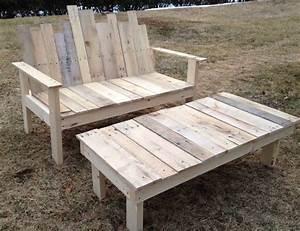 Fabriquer Un Banc D Interieur : fabriquer une table en bois de palette gallery of fabriquer une table basse ronde en bois ~ Melissatoandfro.com Idées de Décoration