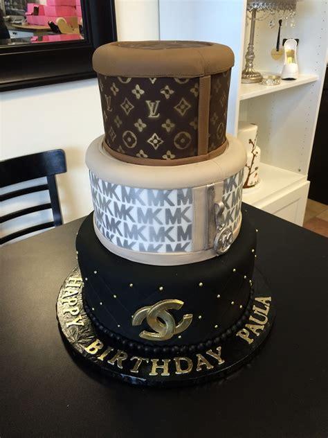 Luxury Designer Brands Cake Louis Vuitton, Michael Kors