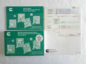 Cummins Owners  U0026 Operation Maintenance Manuals Isbe  U0026 Isb