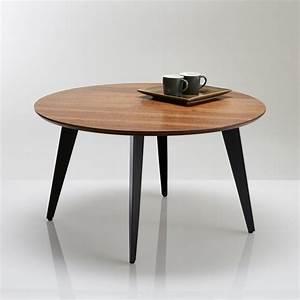 Table De Salon La Redoute : table basse ronde vintage watford noyer la redoute interieurs la redoute ~ Voncanada.com Idées de Décoration