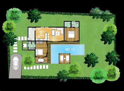 plan maison plain pied 120m2 4 chambres plan de maison avec piscine