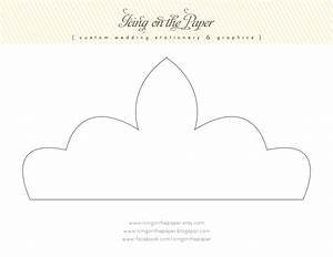 Icing on the paper free printable tiara for Free printable tiara template