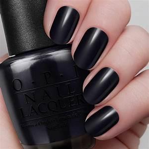 Black Onyx - Nail Lacquer | OPI  Opi
