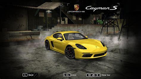 speed  wanted porsche  cayman  nfscars