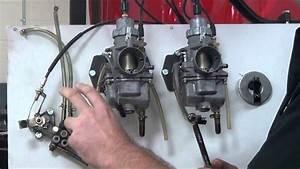 2 Stroke Engine Assembly Oil Injection System Servicing 11