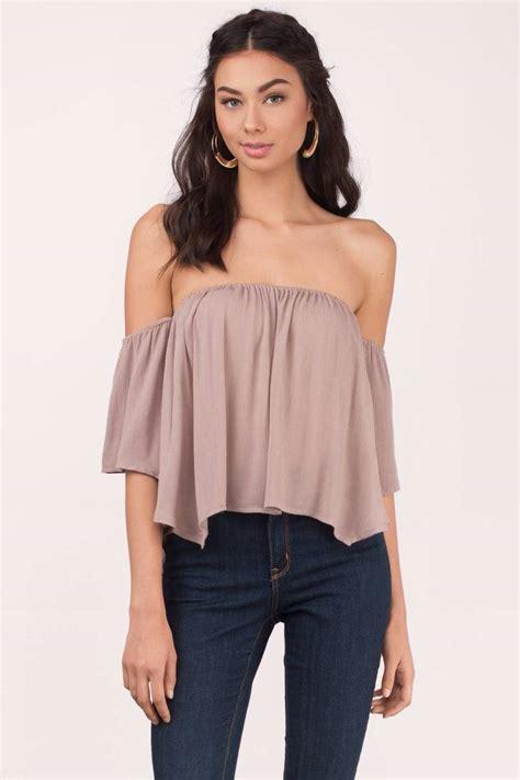 blouson blouse white blouse shoulder blouse 50 00