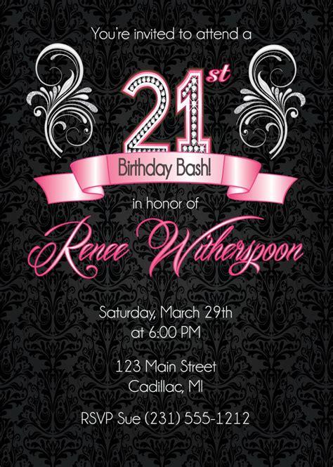 st birthday invitation st birthday party invitation