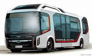 Tata Ultra Electric Bus Concept Looks to Future of Public ...