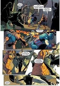 Fantomex VS The Thing Deathlok And Captain America
