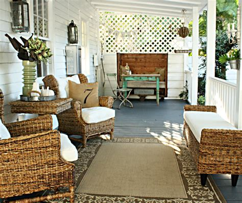 Outside Porch Furniture by Front Porch Furniture Porch With Cottage Farmhouse