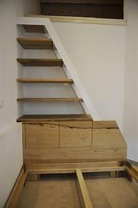 Bibliothèque Escalier Ikea : escalier biblioth que en bois et m tal int grant des rangements et une t te de lit ~ Teatrodelosmanantiales.com Idées de Décoration