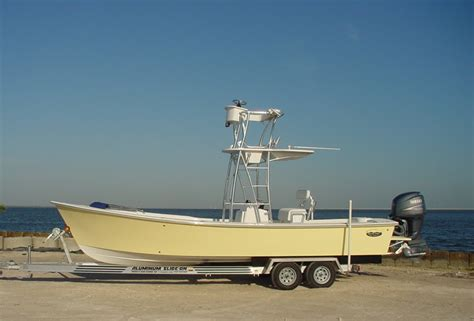 Aluminum Boat Trailer Manufacturers by Slide On Custom Boat Trailers