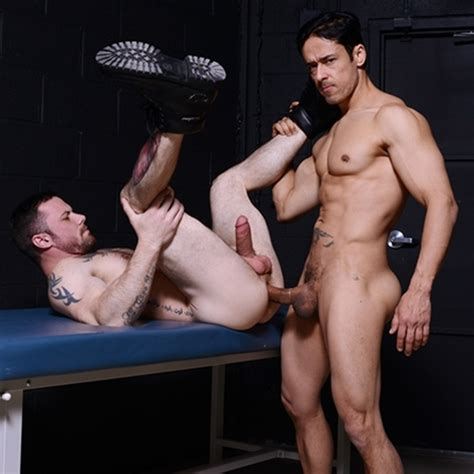 Sexy Naked Men Sergeant Miles And Rafael Alencar Hardcore