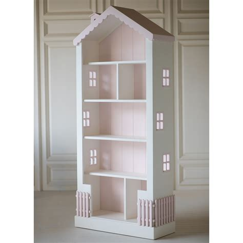 dollhouse kids bookcase white pink foremost bookcase doll house best home design 2018