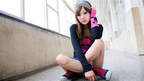 Pretty Asian Girl Wallpaper Hd Chainimage