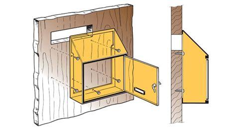 cassetta lettere incasso cassetta postale da installazione interna mod 10 290