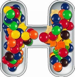 presentation alphabets candy dish letter h With alphabet letter candy dishes